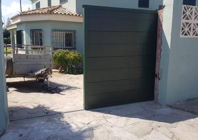 Puerta Automática Verde